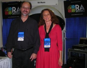 Ausstellung auf der AMTA Musik-Therapie Konferenz
